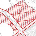 Красные линии на земельном участке